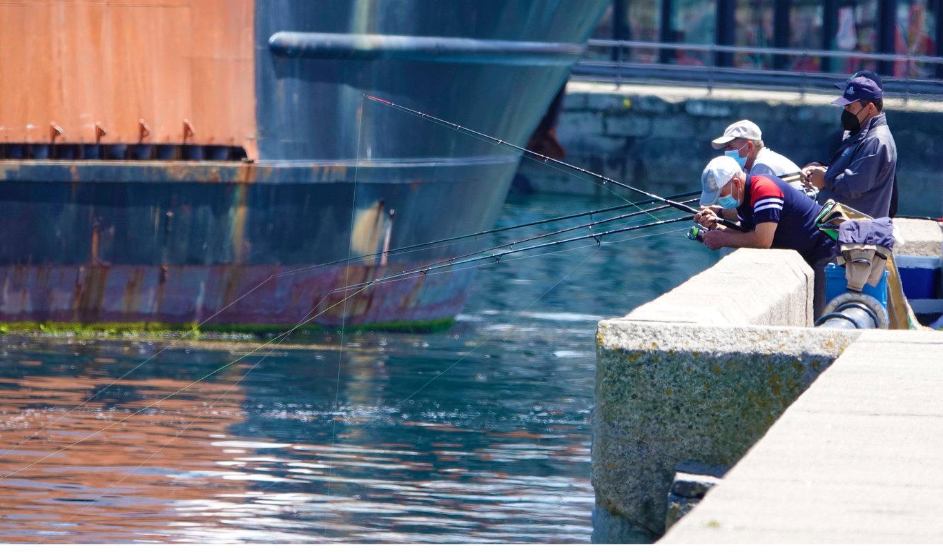 La pesca con caña, en contra de dar cuenta de las capturas