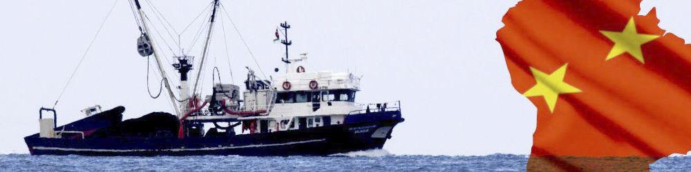 Atalayar.com habla sobre la gran armada pesquera de China: una amenaza para Iberoamérica.