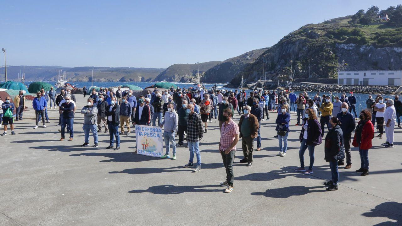 Manifestación de los pescadores recreativos el próximo sábado 29 en Burela