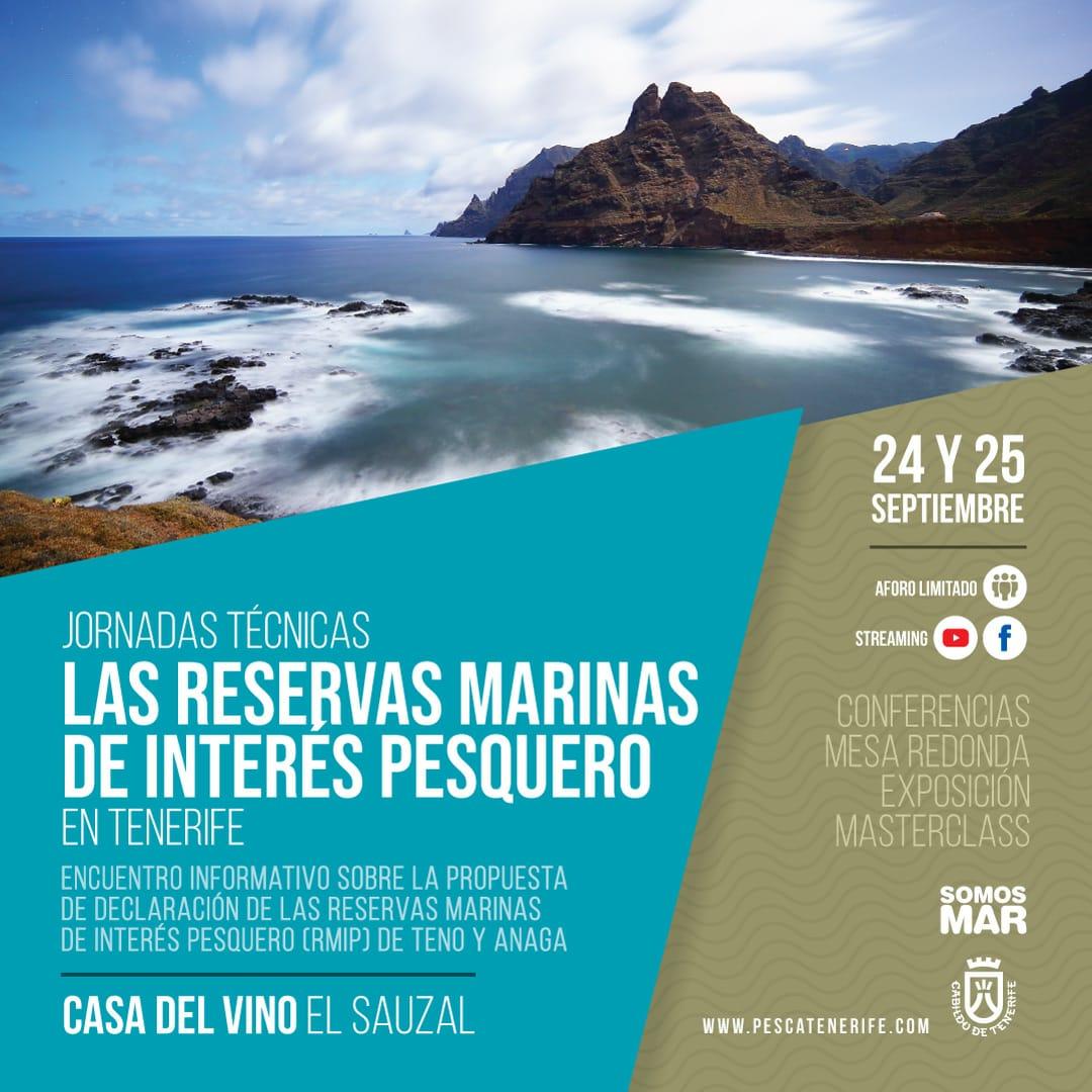 Presidente Cabildo de Tenerife, Sr. Martín aborda la importancia de las Reservas Marinas de Teno y Anaga en unas jornadas
