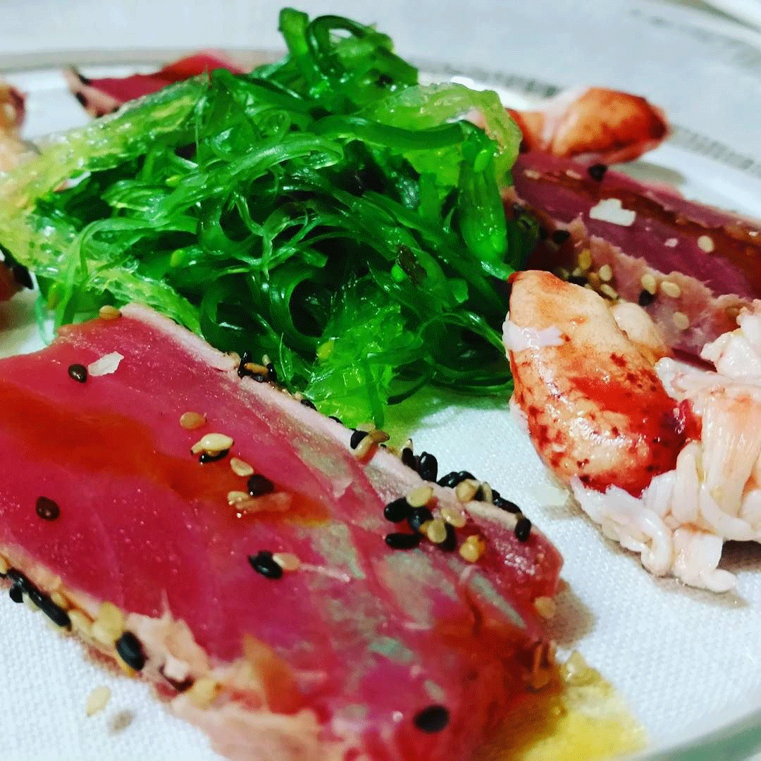 tataki atun rojo-gastronomia japonesa