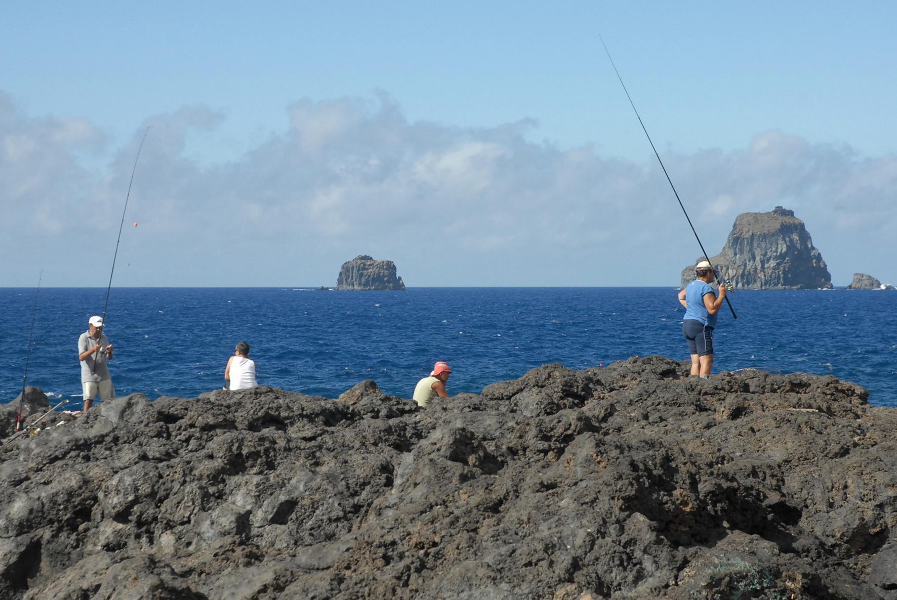 La pesca recreativa muestra la importancia económica del sector en el Parlamento de Canarias